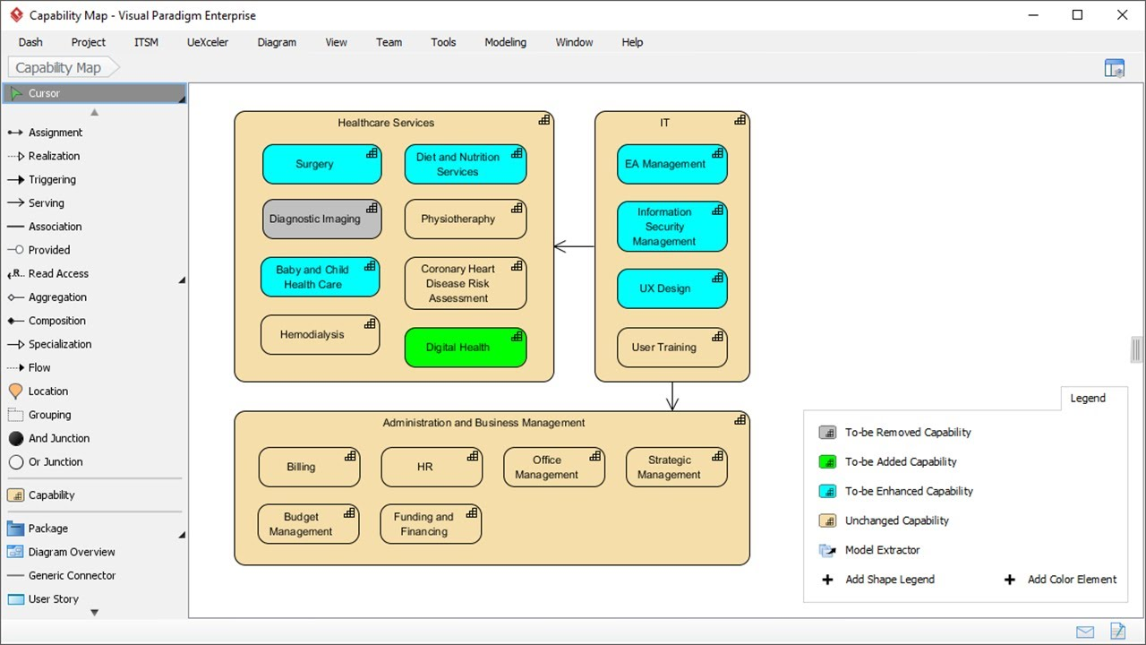 Create Diagrams with Shape Legend  YouTube