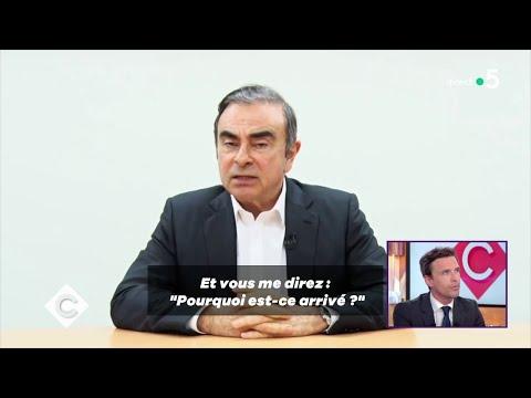 Carlos Ghosn contre-attaque ! - C à Vous - 09/04/2019