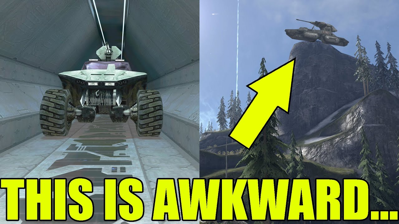 Halo Vehicles In Places They Are NOT Supposed To Be (Halo Glitches)