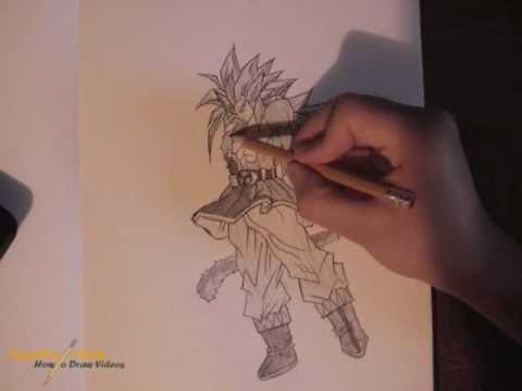 How To Draw Goku Super Saiyan 5 Youtube