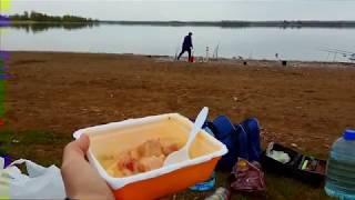 Рыбалка на реке Меша. Карась. Куча икры