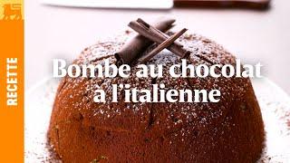 Bombe au chocolat à l'italienne