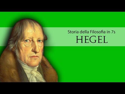 Storia della filosofia #Georg Wilhelm Friedrich Hegel