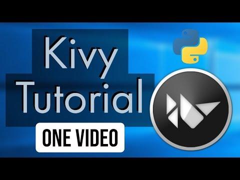 Python Kivy Tutorial | Beginner Kivy Tutorial | One Video