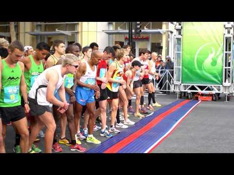 Meb Keflezighi at San Jose Half-Marathon