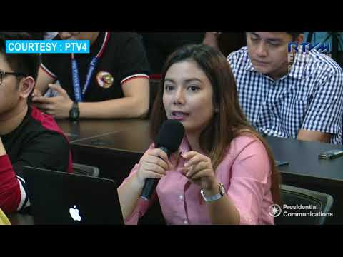 """Secretary Roque's message to the UN ICC """" Press Briefing March 15 2018 [HD] BEST QUALITY"""