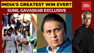 India's Historic Win In Gabba: Sunil Gavaskar In Conversation With Rajdeep Sardersai | News Today