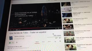 Una Familia De Tokio: Tráiler En Español HD 720P