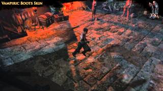 Path of Exile - Vampiric Boots Skin