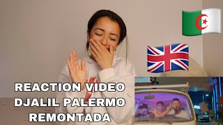 Djalil Palermo - Remontada (Official Music Video) (Reaction Video)