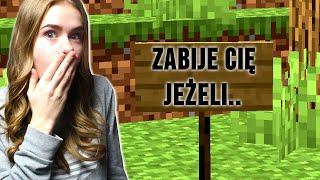 KTOŚ ZOSTAWIŁ MI WIADOMOŚĆ w Minecraft! *tajemnicze*