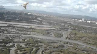 Посадка в Фаро, Португалия