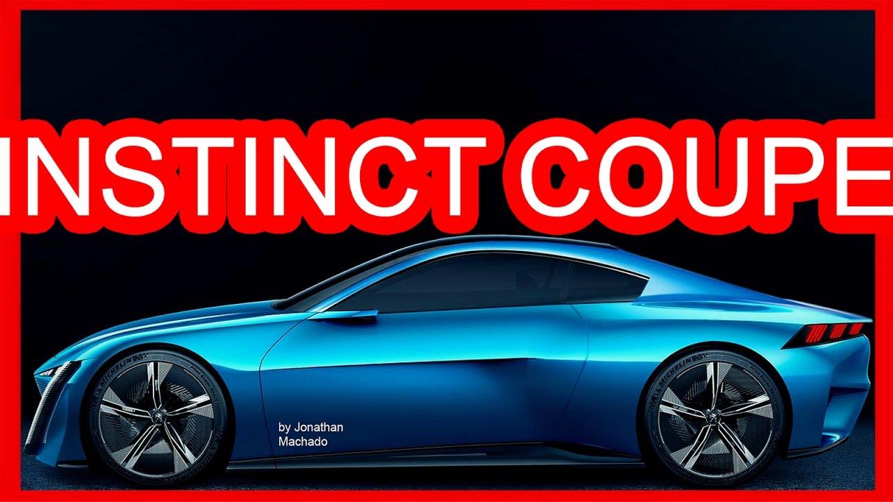 New Dodge Challenger >> PHOTOSHOP 2017 Peugeot Instinct Coupe Concept @ New 2019 Peugeot RCZ II #PEUGEOT - YouTube