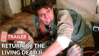 Return of the Living Dead II 1988 Trailer HD | James Karen | Thom Mathews