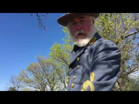 General Robert E. Lee interviewed by Dan Gritsko at Appomattox Court House: April 9, 2017