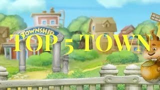 Top 5 Town of Township 2016