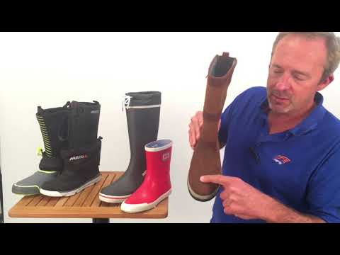 How to Choose Offshore and Rubber Sailing Boots | Expert Adv