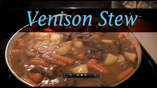 Mouth Watering Venison Stew: Stove Top Video