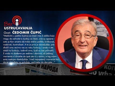 BEZ USTRUČAVANJA - Čedomir Čupić: Kod političara je prisutno slavoljublje, vlastoljublje i pohlepa!