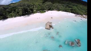 Seychelles with Phantom 2 DJI drone + GoPro Hero 3 Black