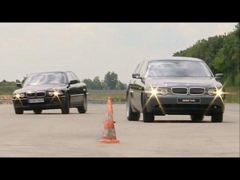 BMW 7 Series E65 vs E38 - Dynamic Drive Active Suspension & Comfort Parking Brake