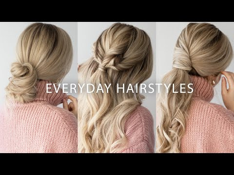sweater-weather-hairstyles-☃️-easy-hairstyles-for-long-&-medium-hair