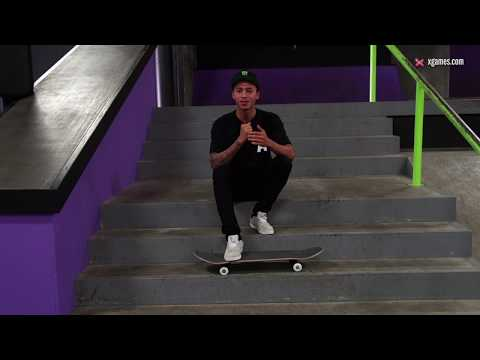 X games trick tips -- nyjah huston backside lipslide