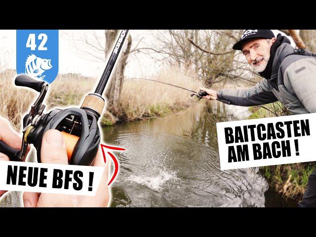 BAITCASTER 1x1: BFS-Baitcasten am BACH (Mit Gewinnspiel!)