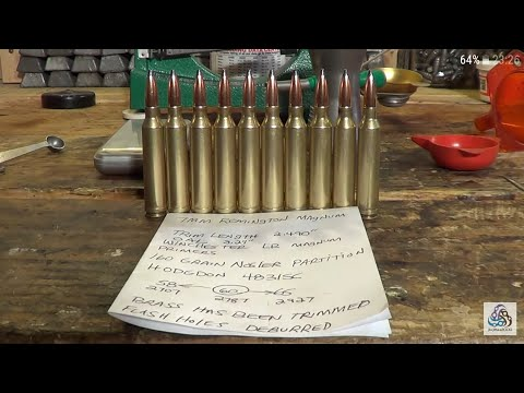 Reloading 10 Rounds Of 7mm Remington Magnum From Start To Finish