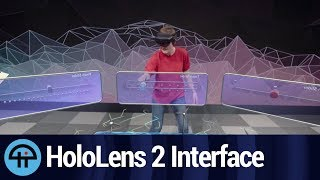 HoloLens 2 Interface and Applications