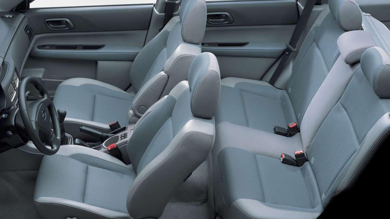 #2014. Subaru Forester 20X 2004 (потрясающее видео)