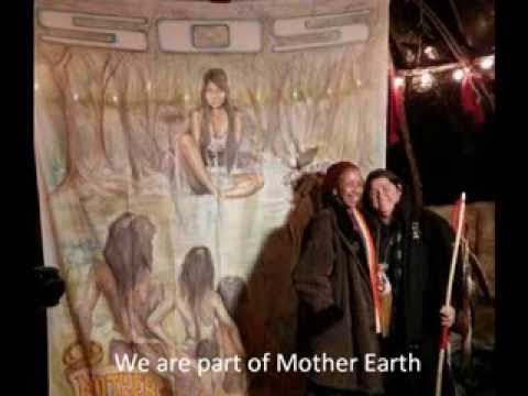Return to Mother Earth Warrior Women Power Chant (mix1)