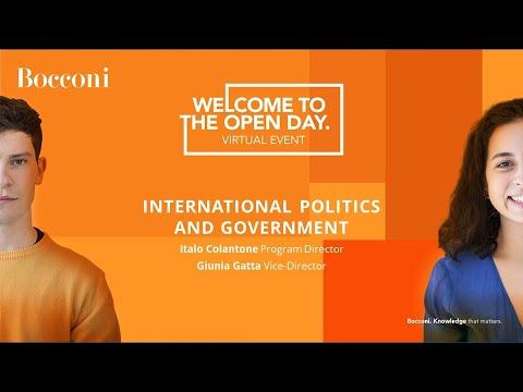 International Politics and Government