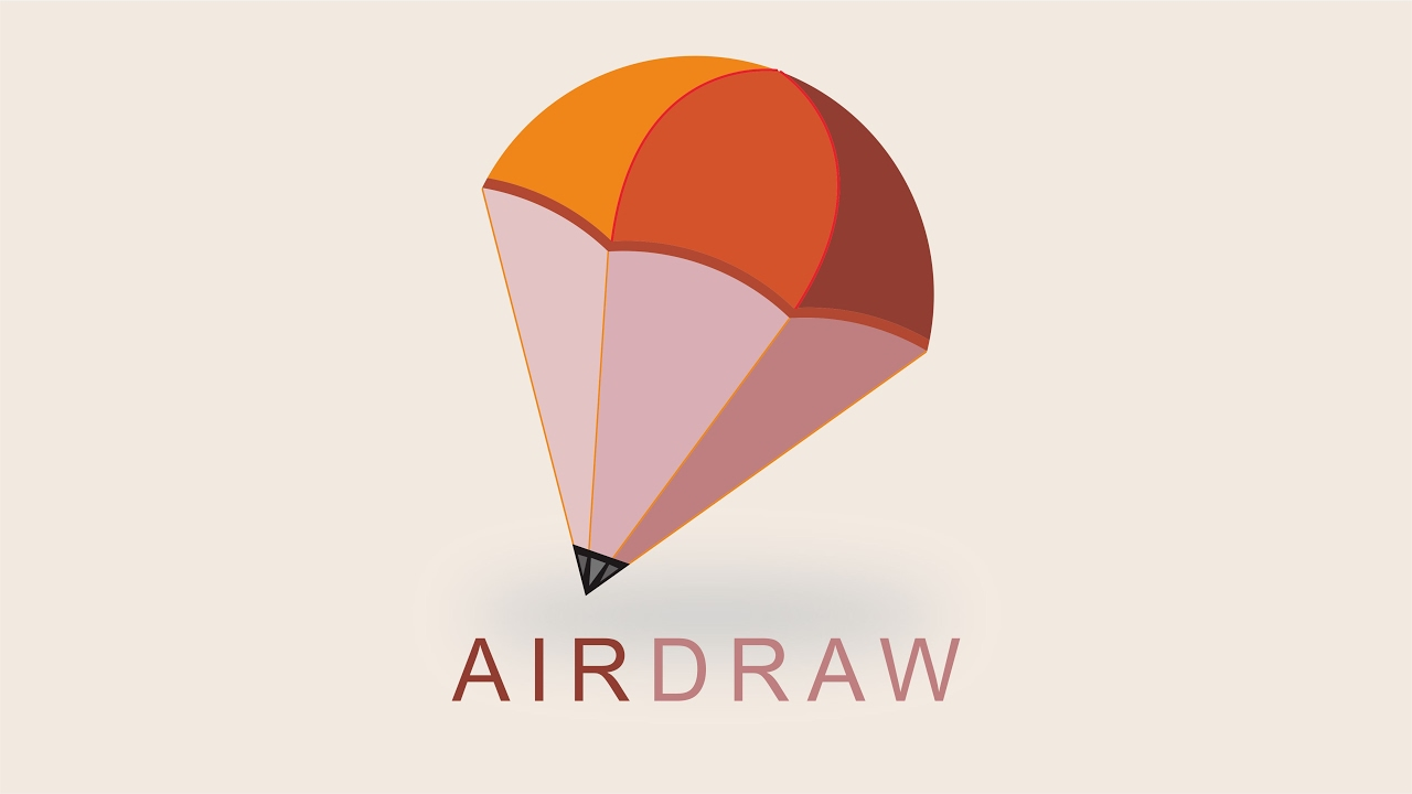 AirDraw] 3D Logo Design Inspiration | Corel Draw Tutorial