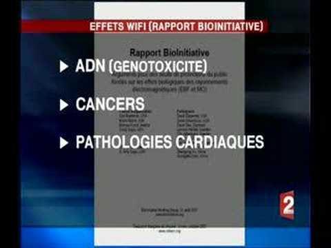 Le WIFI dangereux ? (JT TV).