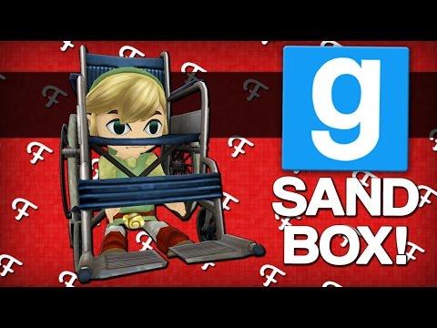 Gmod: Greatest Gladiator Wheelchair Race In History! (Garrys Mod Sandbox - Comedy Gaming)