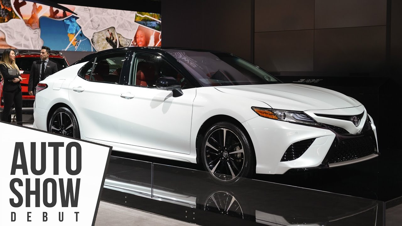 2018 Toyota Camry Features Entune 3 V6 Active Safety 8 Sd