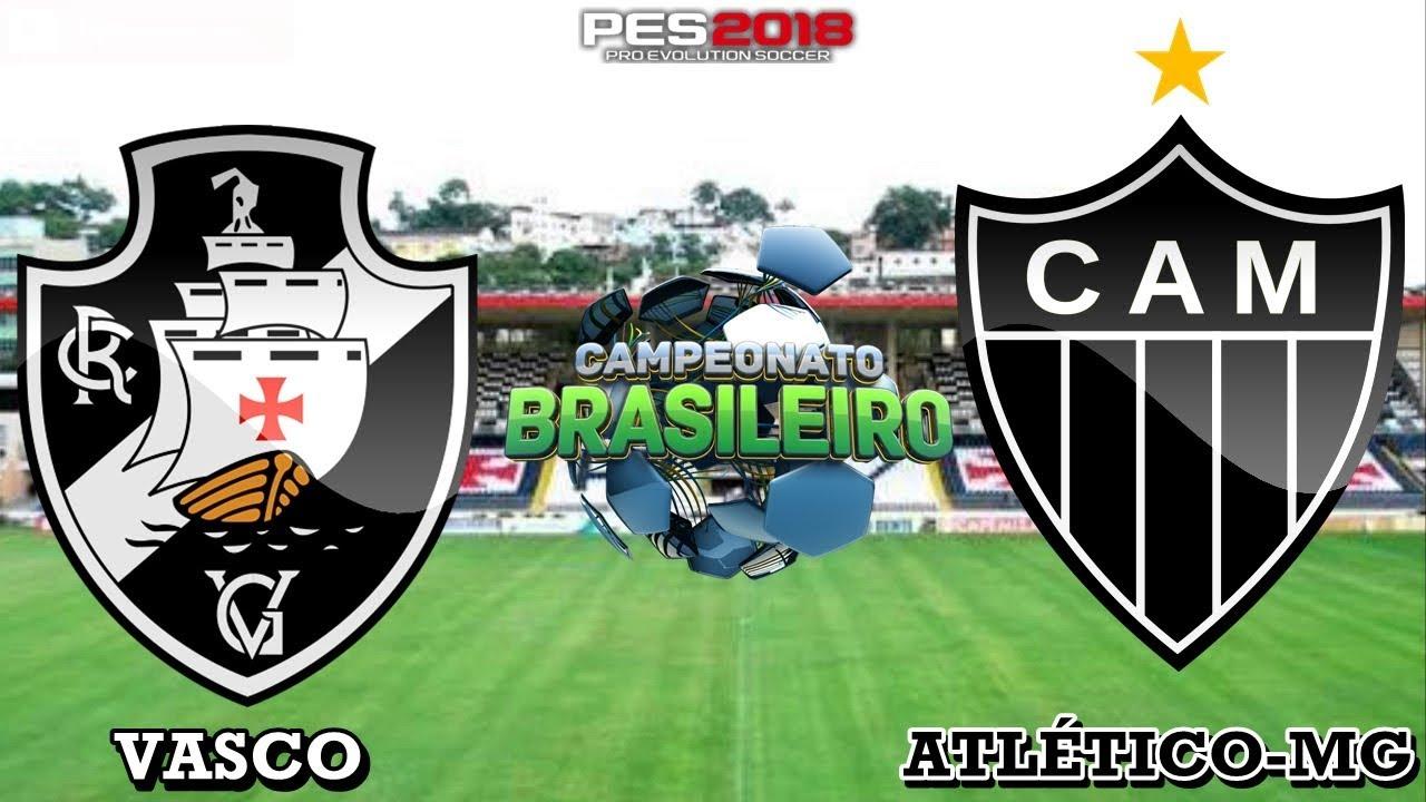 Pes 2018 Vasco X Atletico Mineiro Brasileirao 2018 Gameplay Ps4 Youtube