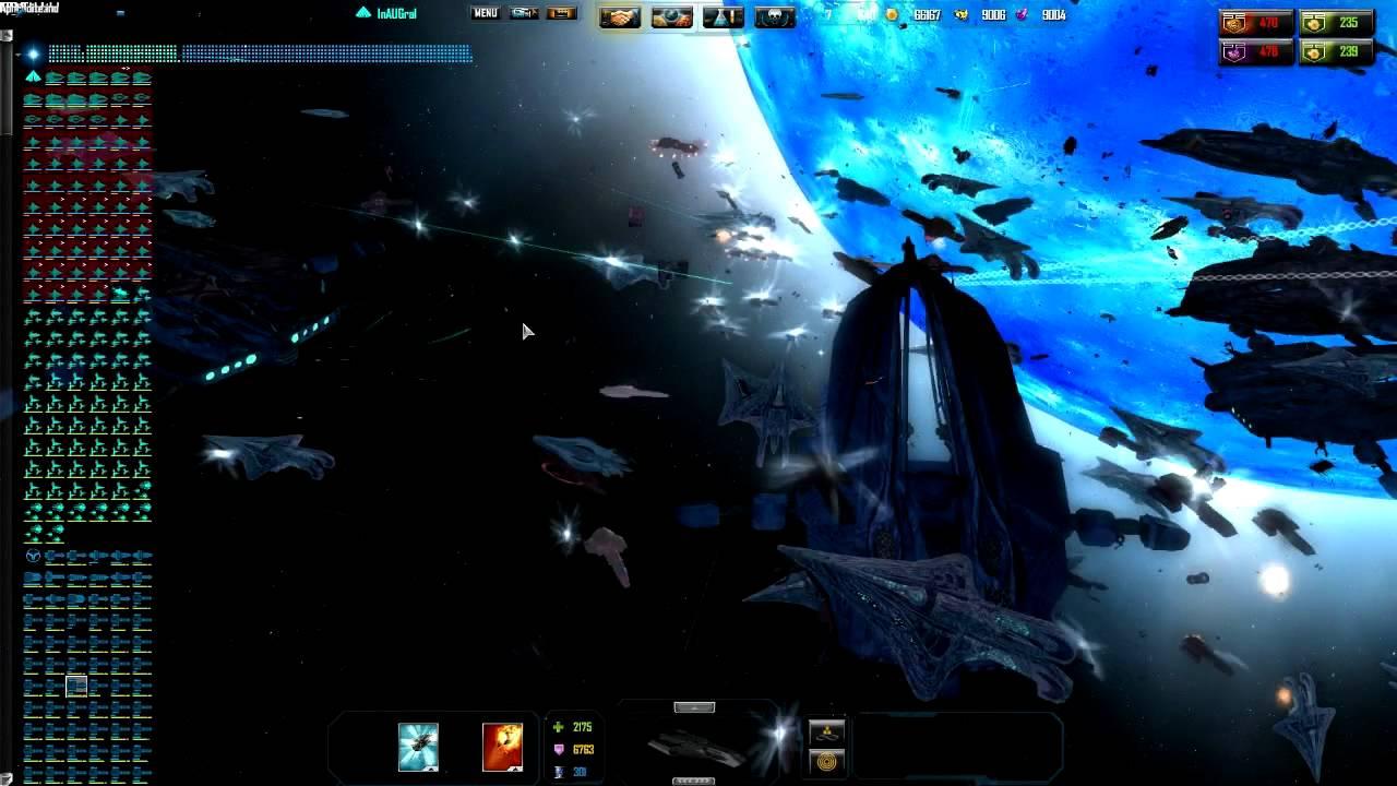 Sins of a solar empire Stargate Invasion mod Wraith VS  Tauri Battle 1