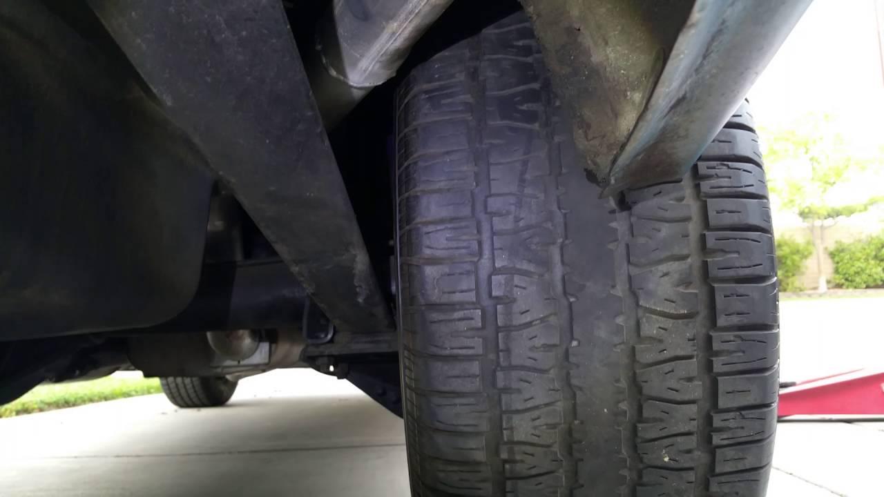 1972 Chevy Nova Tire Fitment 275 60 15 Youtube
