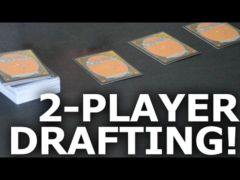 How to Do a Two-Player Magic The Gathering Draft: Winston Drafting!