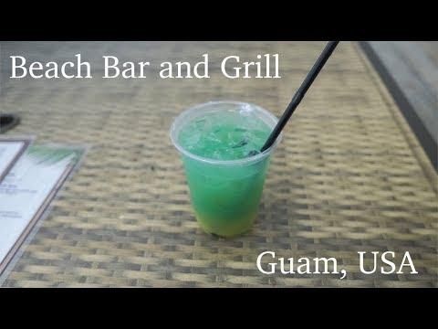 Exploring Guam - Beach Bar and Grill