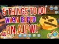 5 Things To Do When You're Bored On AJPW!
