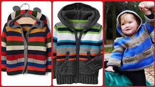 Beautiful and stylish kids sweater new design for boys
