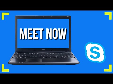 Host Instant Video Conferences With Anyone Using Meet Now For Skype