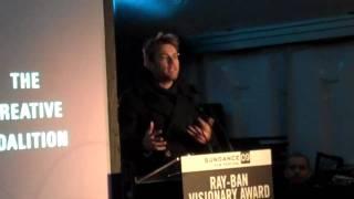 2009 Ray-Ban Visionary Award Honoring Ewan McGregor Award Presented by Alan Cumming