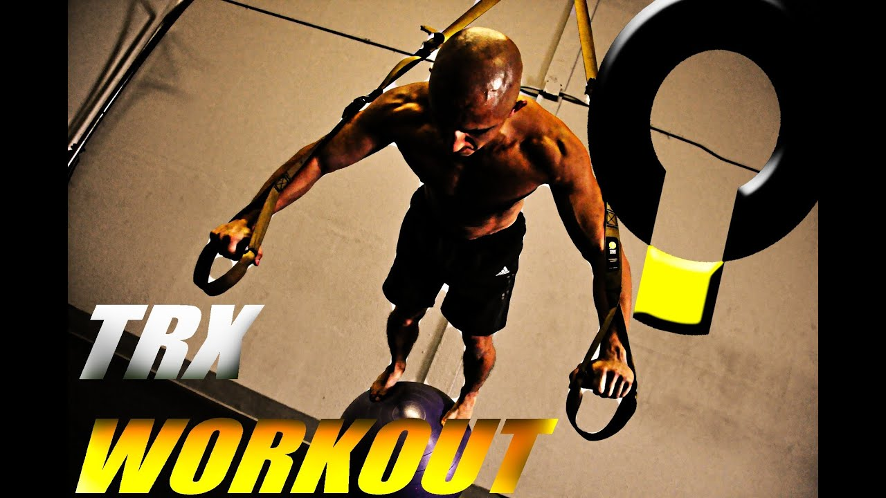 Functional TRX Workout Routine - YouTube