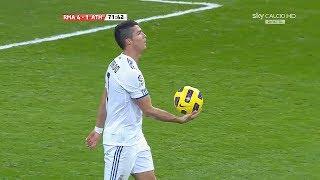 When C.Ronaldo Uses Originality & Intelligence in Football
