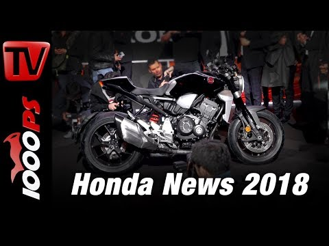 Honda Motorcycles 2018 - Honda CB 1000 R - Goldwing - CB 300 R ...