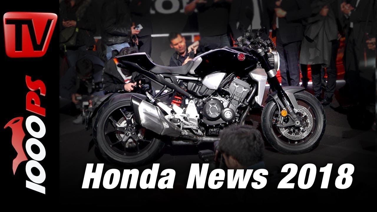 Honda Motorcycles 2018